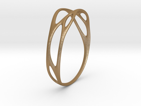 Branching No.1 in Matte Gold Steel