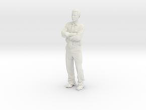 AntoineShirt2 in White Natural Versatile Plastic