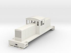 ON30 Centercab conversion for Bachmann FM in White Natural Versatile Plastic