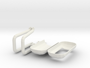footpod01 in White Natural Versatile Plastic