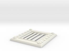 Door Mrk3 in White Natural Versatile Plastic