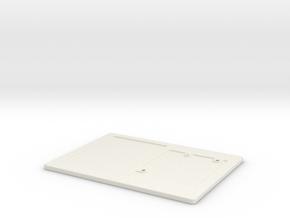 Arduino Stand (Standard) in White Natural Versatile Plastic