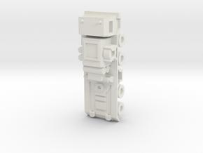 Zugmaschine 1:220 in White Natural Versatile Plastic