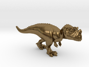 Ceratosaurus Chubbie Krentz in Natural Bronze