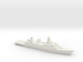 Iver Huitfeldt 1:2400  in White Natural Versatile Plastic