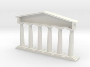 Doric in White Natural Versatile Plastic