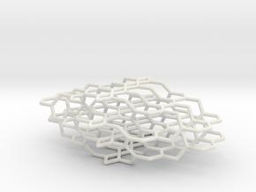 BTO Net in White Natural Versatile Plastic