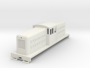 HOn30 large center cab body for Tomix TM-05 v1 in White Strong & Flexible