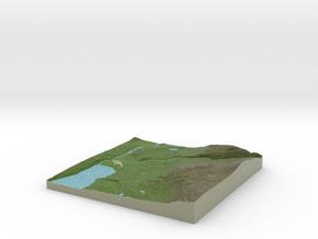 Terrafab generated model Tue Nov 19 2013 12:57:13  in Full Color Sandstone