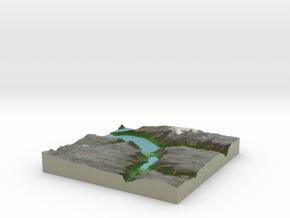 Terrafab generated model Tue Nov 19 2013 14:48:19  in Full Color Sandstone