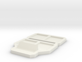 Jay SFB in White Natural Versatile Plastic