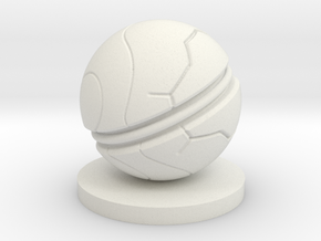 Slaughterball ball in White Natural Versatile Plastic