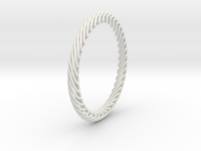 Spiral in White Natural Versatile Plastic