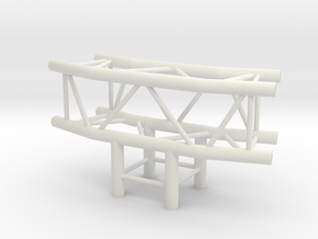 Square Truss L150+L90 1.10 in White Natural Versatile Plastic