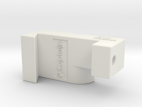 Xo - Chuck splicer L in White Natural Versatile Plastic