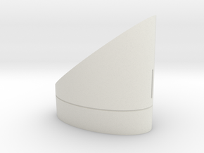 shell in White Natural Versatile Plastic