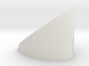 smaller volume in White Natural Versatile Plastic