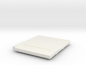 Gameboy Cartridge Top in White Natural Versatile Plastic
