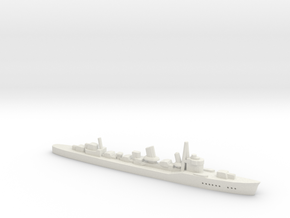 Inazuma (Fubuki III class) 1:1800 in White Natural Versatile Plastic