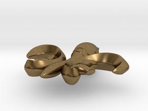 PendantFinal01 in Raw Bronze
