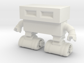 Tread Bot 0020 revised in White Strong & Flexible