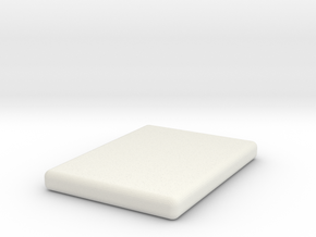 1:48 Mattress Queen in White Natural Versatile Plastic