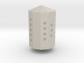 Cycle D11 Die in Natural Sandstone