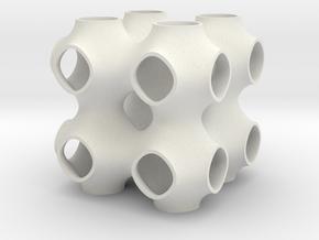 P222 in White Natural Versatile Plastic