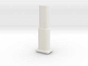 Fission Cannon for Turret in White Natural Versatile Plastic