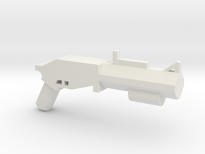 Grenade Launcher Reach in White Natural Versatile Plastic
