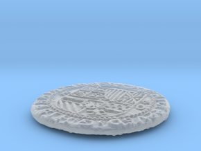 Uncharted: Spanish Gold Coin in Smooth Fine Detail Plastic