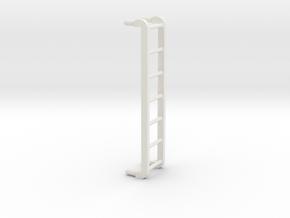 Santa Fe 4-8-4 Tender ladder in White Strong & Flexible