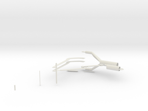 Landing Gear in White Natural Versatile Plastic