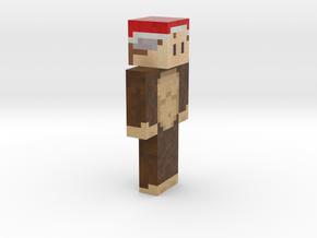 6cm | PixeledMando in Full Color Sandstone