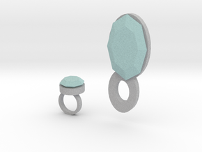 Lara Ring And Pendant in Full Color Sandstone
