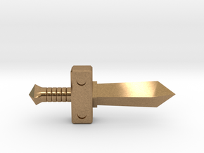 Forest Sword II in Natural Brass