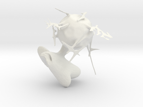 dodo's othor planet in White Natural Versatile Plastic