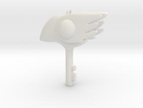 Cosplay Sakura Clow key bird in White Strong & Flexible