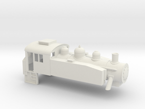 USA Tank - 3mm - 1:101.6 in White Strong & Flexible
