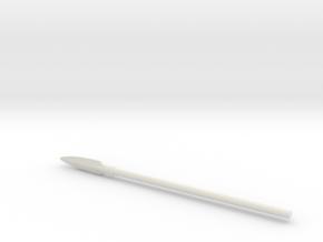 Hoplite Spear in White Strong & Flexible