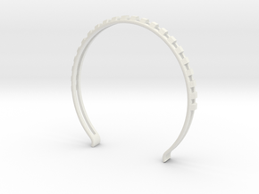 Head arc 7 in White Natural Versatile Plastic