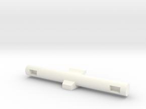 Full Turret - Opt Gun Director in White Processed Versatile Plastic