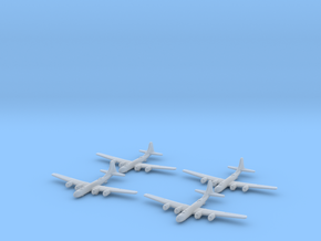 B-29-Superfortress-X4 Global War Scale in Smooth Fine Detail Plastic