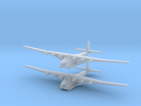 Me-323 (X2) Global War Scale in Smooth Fine Detail Plastic
