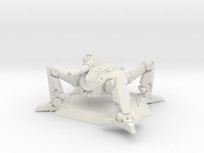 Mecha- Arachnid II (1/285th) in White Strong & Flexible