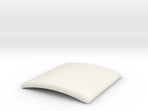 1/32 slot car porta-john - Roof, Part 2of2 ~ Scen in White Natural Versatile Plastic
