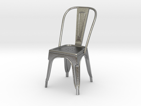 1:24 Pauchard Chair in Natural Silver