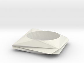 ring o in White Natural Versatile Plastic