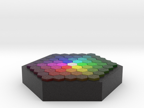 Color Wafer in Full Color Sandstone