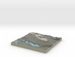 Terrafab generated model Tue Dec 03 2013 22:14:33  in Full Color Sandstone